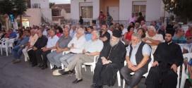 ΣΤΟΝ ΒΑΜΟ ΑΠΟΚΟΡΩΝΟΥ:   Εκδήλωση για την Ένωση της Κρήτης με την Ελλάδα