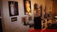 ΣΤΗΝ ΑΡΧΑΙΑ ΑΠΤΕΡΑ:  Παρατάθηκε η έκθεση ζωγραφικής της Μαρίας Ορφανουδάκη