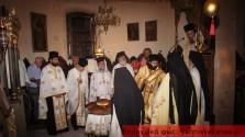 ΣΤΗΝ ΙΕΡΑ ΜΟΝΗ ΓΩΝΙΑΣ ΚΟΛΥΜΠΑΡΙΟΥ:   Κοσμοσυρροή πιστών στην Παναγιά
