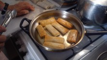 Για τις «Γεύσεις Κρήτης» μπουρεκάκια γεμιστά με κιμά!