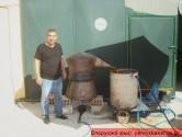 Γιορτή τσικουδιάς από Κρητικούς της Σύρου