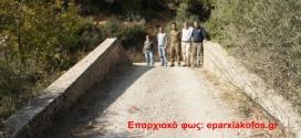 ΣΤΑ ΜΟΥΣΑΔΙΑΝΑ ΚΙΣΑΜΟΥ:  Ένα ξεχασμένο γεφύρι γίνεται γνωστό…