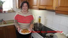 «Γεύσεις Κρήτης» με χοιρινό, πιπεριές και κάστανα
