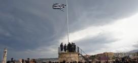Κορυφώθηκαν οι λαμπρές εκδηλώσεις της Ένωσης της Κρήτης με την Ελλάδα με την ύψωση της σημαίας στο Φρούριο Φιρκά