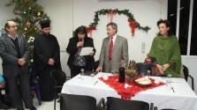ΣΤΟ ΔΗΜΟΤΙΚΟ ΓΗΡΟΚΟΜΕΙΟ:  Δείπνο αγάπης για τα Χριστούγεννα
