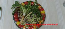 Γεύσεις Κρήτης με σπανακόρυζο (πιλάφι του «φτωχού» και ασκρολίμποι με κουκιά – Βίντεο