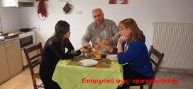 Γεύσεις Κρήτης με δυο καλές μαγείρισσες, φοιτήτριες στα Χανιά