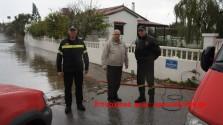 Δυνατές βροχές στα Χανιά προξένησαν πλημμύρες… ( Βίντεο)