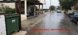 Στα Περιβόλια του Δήμου Χανίων οι κάδοι απορριμμάτων δεν έχουν συμμετρικές αποστάσεις…