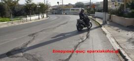 Νοικοκυρεύτηκε… το οδόστρωμα στην Παρηγοριά Χανίων