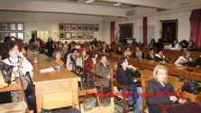 ΣΤΟ ΔΗΜΑΡΧΕΙΟ ΧΑΝΙΩΝ:  Ομιλία για θέματα ψυχικής υγείας
