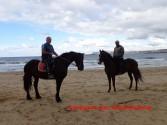 Στην παραλία βόλτα με τ' άλογα!