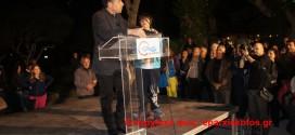 Ο Σταύρος Θεοδωράκης κυριεύει τις καρδιές αγανακτισμένων και στα Χανιά