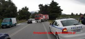 Φορτηγό εν κινήσει έπιασε φωτιά στη νέα εθνική οδό Χανίων – Ρεθύμνου
