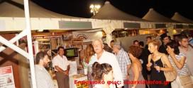 ΣΤΟΝ ΠΛΑΤΑΝΙΑ:  Εγκαινιάσθηκε το 4ο Φεστιβάλ τοπικών προϊόντων  αφιερωμένο στο κρητικό κρασί  (Και βίντεο)