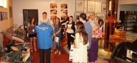 ΣΤΟ ΜΟΥΣΕΙΟ ΤΥΠΟΓΡΑΦΙΑΣ ΤΩΝ ΧΑΝΙΩΤΙΚΩΝ ΝΕΩΝ:       Επίσκεψη νέων με την Ελληνική  Ένωση Ευρωπαϊκής και Ατλαντικής Συνεργασίας