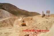 Αισιόδοξη η τοπική κοινωνία στα Εννιά Χωριά για τα εκτελούμενα οδικά έργα