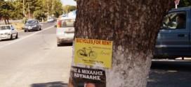Τα δέντρα δεν είναι χώρος για διαφήμιση!