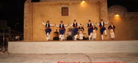 Χοροί και τραγούδια της Κρήτης και του Πόντου στο παλιό λιμάνι των Χανίων