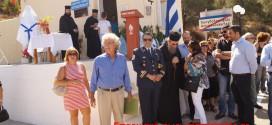 ΣΤΟ ΑΜΥΓΔΑΛΟΚΕΦΑΛΙ ΕΝΝΙΑ ΧΩΡΙΩΝ ΚΙΣΑΜΟΥ:     Αποκαλυπτήρια προτομής γιατρού Γεωργίου Βιδαλάκη