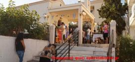 ΣΤΑ ΛΕΝΤΑΡΙΑΝΑ:  Γιορτάστηκε πανηγυρικά το εξωκλήσι του Τιμίου Σταυρού
