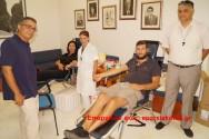 Εθελοντική αιμοδοσία από τον Σύλλογο Ασφαλιστικών Διαμεσολαβητών Χανίων