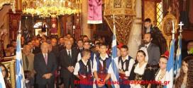 Λαμπρός ο εορτασμός του πολιούχου Αγίου Σπυρίδωνα στο Καστέλι Κισάμου ( Και βίντεο)