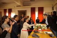 Πολιτικός γάμος στο δημαρχείο Χανίων μεταδόθηκε στο διαδίκτυο!