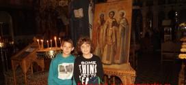 Η εορτή των Τριών Ιεραρχών στον Ι.Ν. Αγίων Κωνσταντίνου και Ελένης (Και βίντεο)
