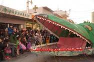 Ξέφρενο γλέντι στο καρναβάλι των Χανίων