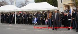 ΣΤΑ ΧΑΝΙΑ –  Με τον υπουργό οικονομικών Γιάννη Βαρουφάκη εκπροσωπήθηκε η κυβέρνηση στην παρέλαση (Και βίντεο)