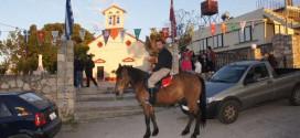 ΣΤΕΡΝΕΣ ΑΚΡΩΤΗΡΙΟΥ: Εσπερινός Αγίου Γεωργίου μετά λιτανείας Ιερού Λειψάνου