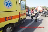 Σφοδρή σύγκρουση οχημάτων με τραυματίες στη νέα εθνική οδό Χανίων Ρεθύμνης ( Και βίντεο)