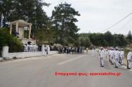 Τιμή στη μνήμη των πεσόντων του μνημείου στον Κερίτη κατά τη Μάχη της Κρήτης