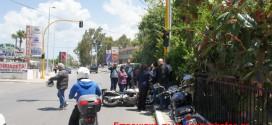 Τροχαίο ατύχημα με τραυματισμό στη λεωφόρο Σούδας (Και βίντεο)