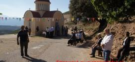 Γιορτάστηκε πανηγυρικά το μικρό εξωκλήσι του Αγίου Πνεύματος στον Φτερόλακκο Σελίνου