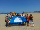 Κυματίζουν στα Φαλάσαρνα δύο γαλάζιες σημαίες