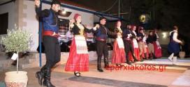 Παραδοσιακοί χοροί στο 1ο φεστιβάλ στις Καλύβες Αποκορώνου