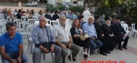 ΣΤΟΝ ΚΕΦΑΛΑ ΑΠΟΚΟΡΩΝΟΥ –  Τιμητική εκδήλωση για τον οπλαρχηγό παπά-Γρηγόρη Δαμινό-Γαναδάκη