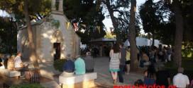 Αρκετοί προσκυνητές στον πανηγυρικό Eσπερινό του Προφήτη Ηλία στο Ακρωτήρι