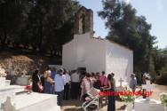Πανηγυρικά λειτουργήθηκε η εκκλησία του Προφήτη Ηλία στον Τραχινιάκο Καντάνου