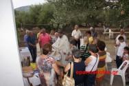 Γιορτάστηκε πανηγυρικά το εξωκλήσι της Αγίας Παρασκευής στον Πάνω Δραπανιά (Και βίντεο)