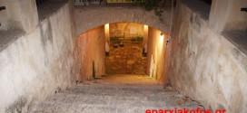 Η υπόγεια κρήνη στην πλατεία Σπλάντζιας