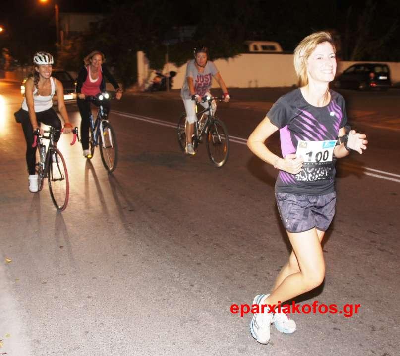 Νυχτερινός δρόμος από τον  Σύλλογο δρομέων υγείας Χανίων