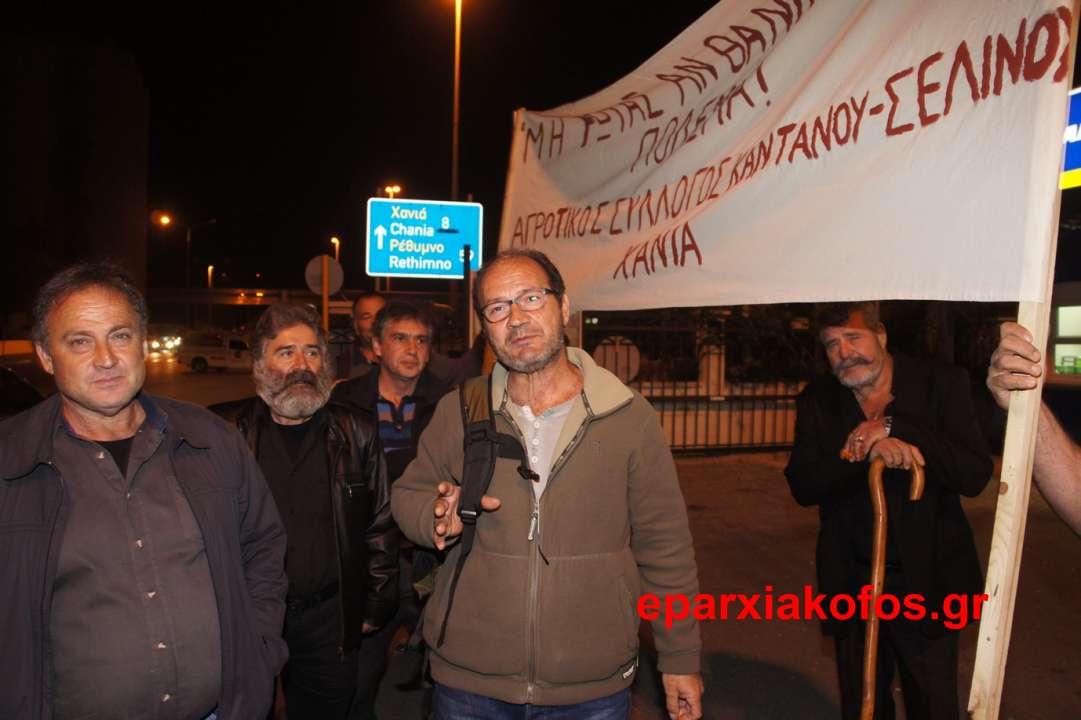 Αγανακτισμένοι αγρότες απ' όλη την Κρήτη συμμετέχουν στο πανελλήνιο συλλαλητήριο στο Σύνταγμα