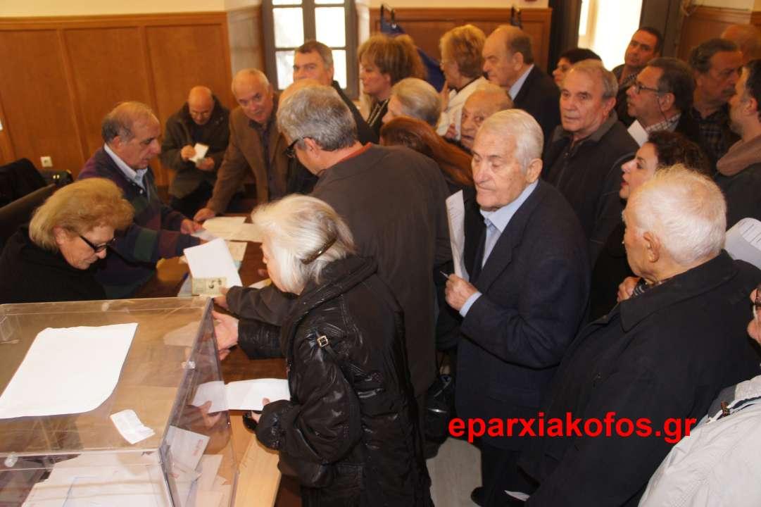 Αρκετός κόσμος στα εκλογικά κέντρα για ανάδειξη αρχηγού Νέας Δημοκρατίας