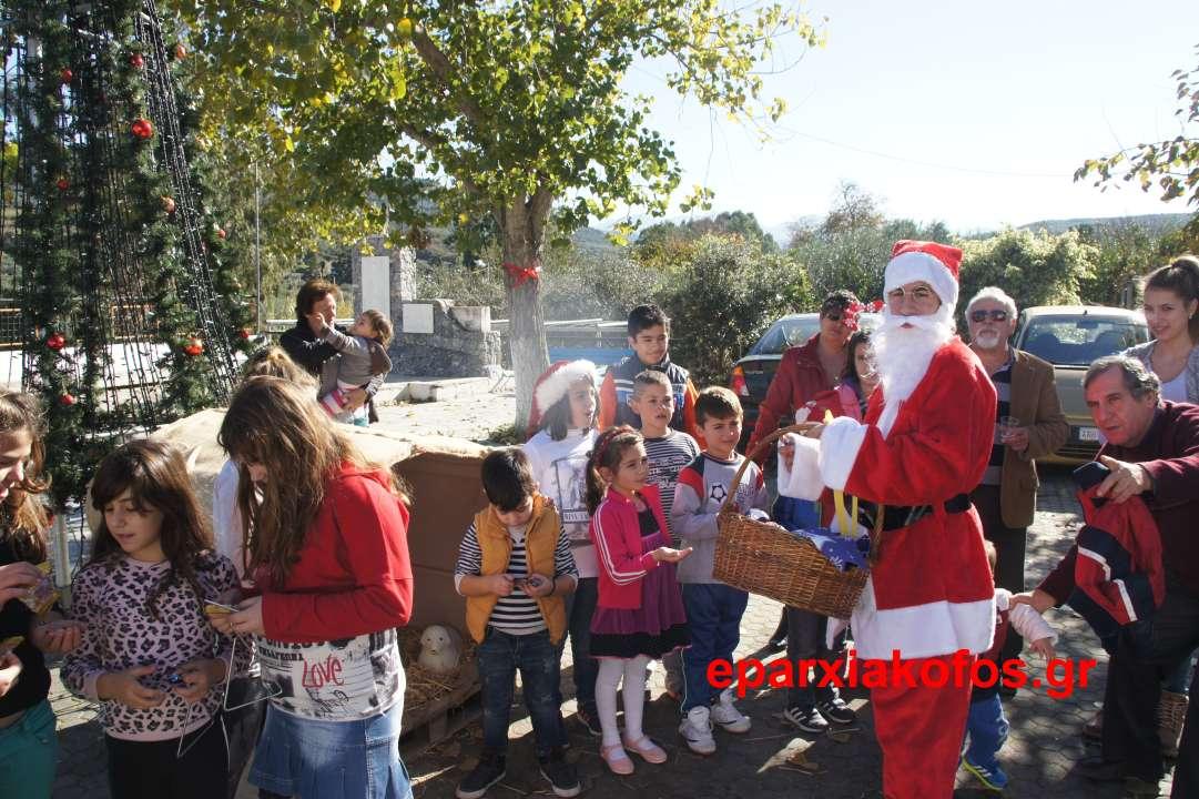 Χριστουγεννιάτικη εκδήλωση με κάλαντα στα Καλουδιανά (Και βίντεο)