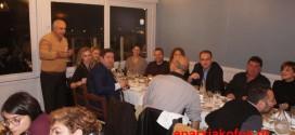 Ευχές κι ευχαριστίες με γεύμα σε δημοσιογράφους