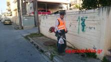 Συνεργεία του Δήμου Χανίων καθαρίζουν την πόλη (Και βίντεο)