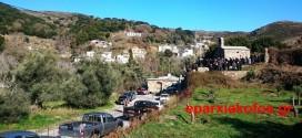ΣΤΑ ΤΕΜΕΝΙΑ – Εορτάστηκε το μικρό εξωκκλήσι της Υπαπαντής (Και βίντεο)